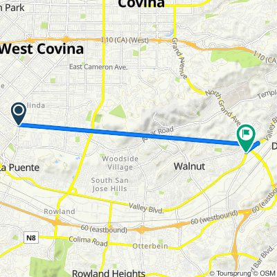 De 934 N Hacienda Blvd, La Puente a 302 Spur Trail Ave, Walnut