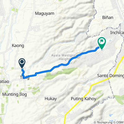 Tibig Road 156, Silang to Wedgewood Avenue
