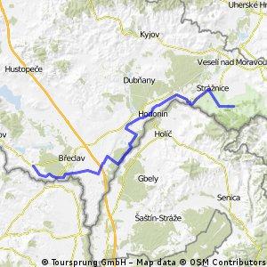 Den 3.Valtice-Horní mlýn