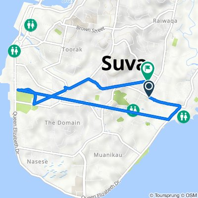 Laucala Bay Road, Suva to Varani Street, Suva