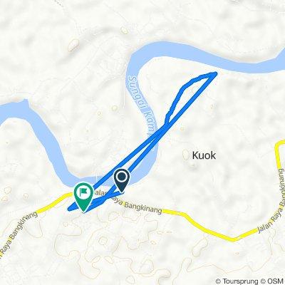 Jalan Bangkinang - Payakumbuh 20, Bangkinang Barat to Unnamed Road, Kuok
