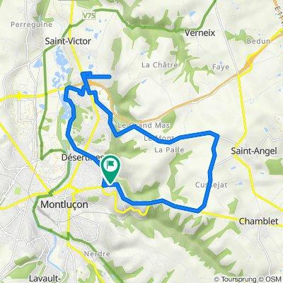 De 41 Rue Montplaisir, Désertines à 43 Rue Montplaisir, Désertines