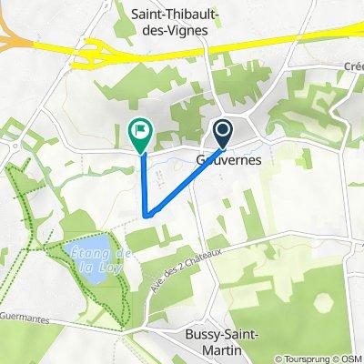 De 30–32a Rue Pasteur, Gouvernes à 53 Rue Pasteur, Saint-Thibault-des-Vignes
