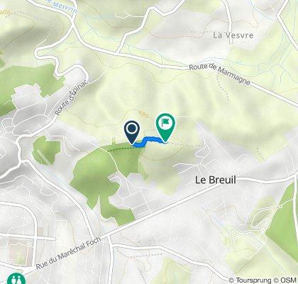 De Boulevard Saint-Cloud-Montcoy 40, Le Breuil à Pâture de Bian, Le Breuil