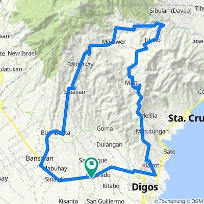 Matanao-Bansalan-Digos Loop