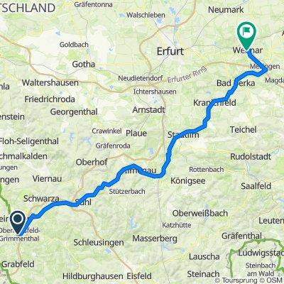 obermaßfeld - Weimar