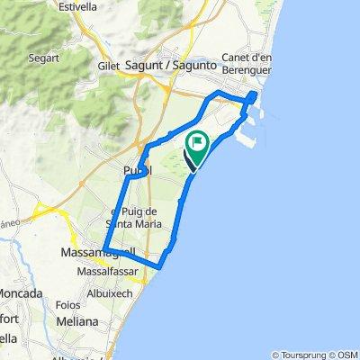 Ruta Puerto de Sagunto