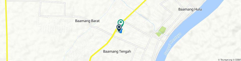 Jalan Cilik Riwut, Baamang to Jalan Cilik Riwut 82, Baamang