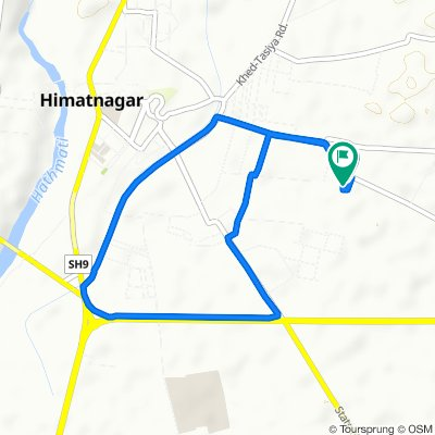 Mahakali Mandir, Himatnagar to Mahakali Mandir Road 69, Himatnagar
