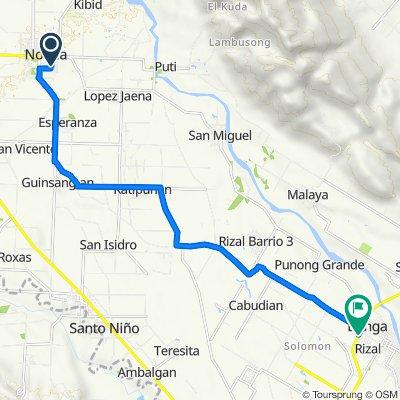 Route to Cotabato-Marbel Road, Banga