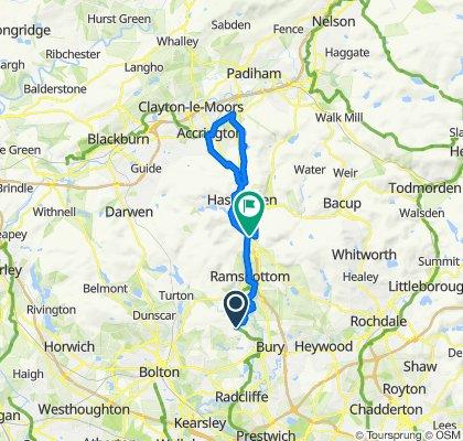 Kings Highway, Accrington loop