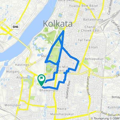 Bhowanipore Cemetery, Kolkata to Bhowanipore Cemetery, Kolkata