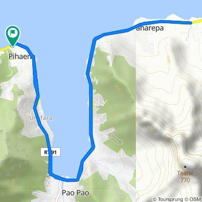 De Unnamed Road, Moorea-Maiao à Unnamed Road, Moorea-Maiao