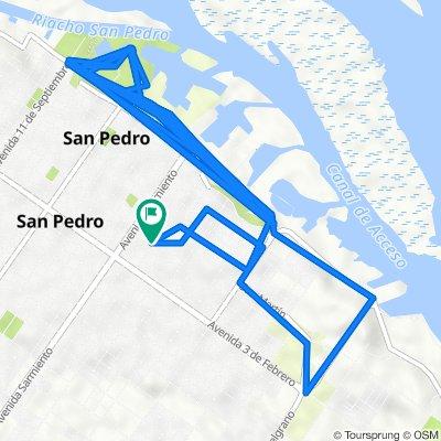 De General Las Heras 802–900, San Pedro a General Las Heras 801–899, San Pedro