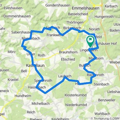 Lingenhahn-Kastellaun 52km