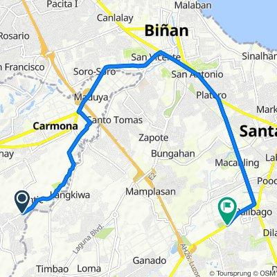Calumpang Road 1322, Carmona to Balibago Road Lot 1, Santa Rosa