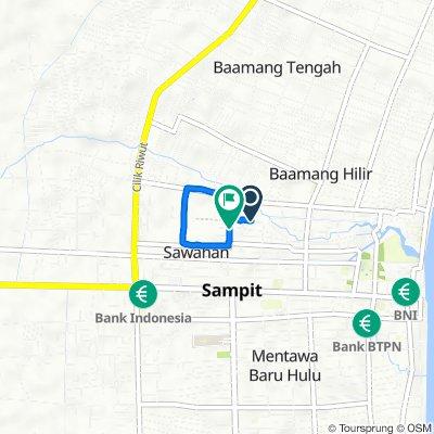 Unnamed Road, Mentawa Baru/Ketapan to Jalan Agatis, Mentawa Baru/Ketapan