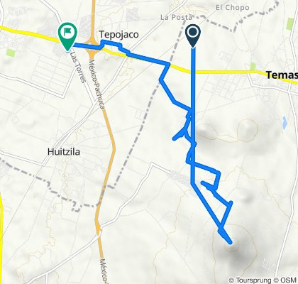 De Temascalapa a Uxmal 1, Tizayuca