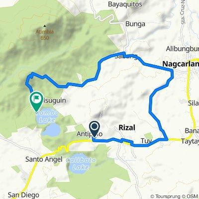 Nagcarlan - Rizal Road 246 to San Lorenzo, San Pablo City