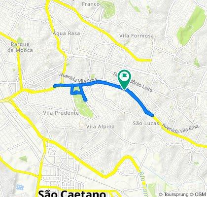 De Avenida Professor Luiz Ignácio Anhaia Mello, 4627A, São Paulo a Avenida Professor Luiz Ignácio Anhaia Mello, 4482, São Paulo