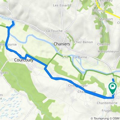 De 5 Route de Beillant, Saint-Sever-de-Saintonge à 5 Route de Beillant, Saint-Sever-de-Saintonge