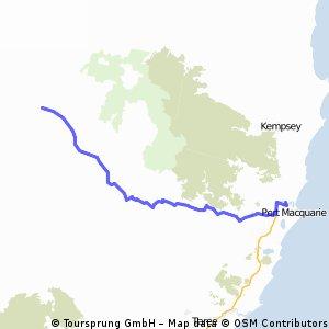 Walcha to Port Mac