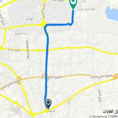 ليبيا to Unnamed Road, طرابلس