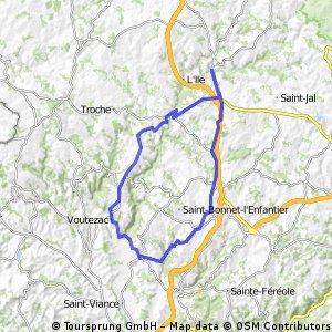 Tour Allassac Le Saillant