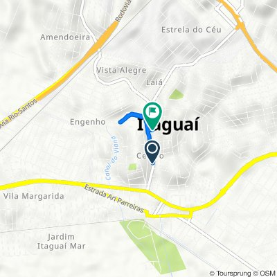 De Rua General Bocaiúva 275 a Rua Reverendo Otávio Luís Viêira 954