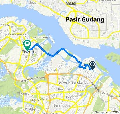 Edgefield Plains 671, Singapore to Yishun Street 72 Blk 747, Singapore