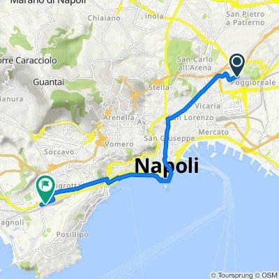 Da Cupa Lautrec-Muro Finanziere 3, Napoli a Via Diocleziano 174, Napoli