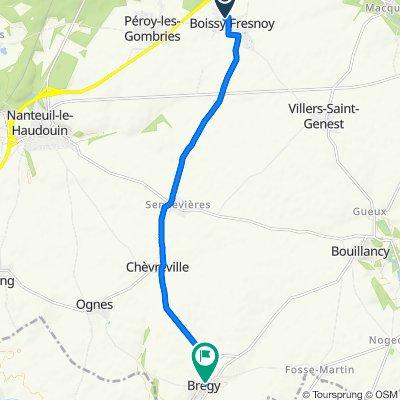 De 1B Ruelle à Panier, Boissy-Fresnoy à 1 Rue de l'Ormelet, Brégy