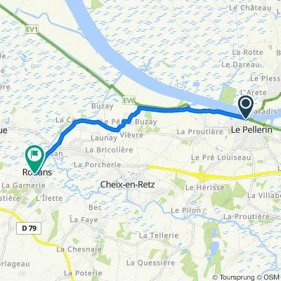De Quai des Côteaux, Le Pellerin à 1 Place de l'Église, Rouans