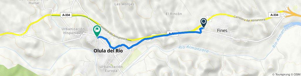 De Cortijo Canoto 4, Fines a Avenida Pintor Antonio López 5, Olula del Río