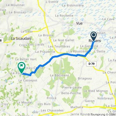 De 1 Place de l'Église, Rouans à Les Quatre Chemins, Arthon-en-Retz