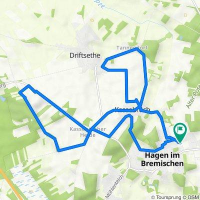 Am Bergring 17, Hagen im Bremischen nach Am Bergring 17, Hagen im Bremischen