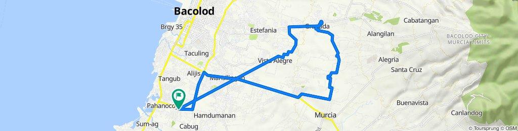 Pahanocoy-Mansilingan-Binitin (Murcia)-Granada-Vista Alegre