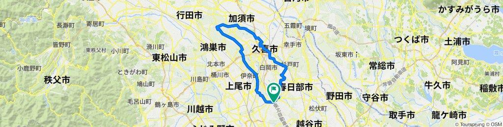 水と緑のふれあいロード・緑のヘルシーロード ぐるっと一周 2020/12/20