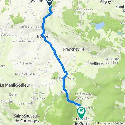 De 49 La Bannerie, Tanques à 3 Le Bourg, La Lande-de-Goult