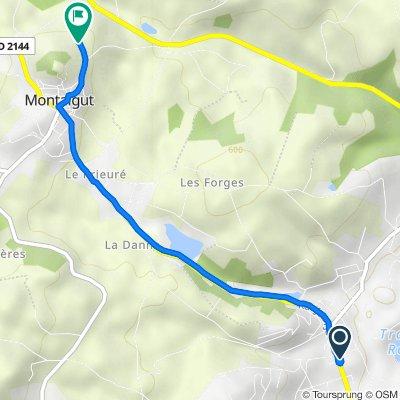 Itinéraire à partir de 91 Rue Jean Jaurès, Saint-Éloy-les-Mines