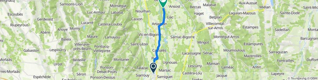 De 2–3 Rue Saint-Vincent, Andrest à 3 Route d'Artagnan, Gensac