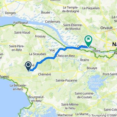 De 7 La Basse Chanterie, Chauvé à 15 Route des Bruleaux, Couëron