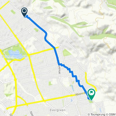 3435 Blue Mountain Dr, San Jose to Altia Ave, San Jose