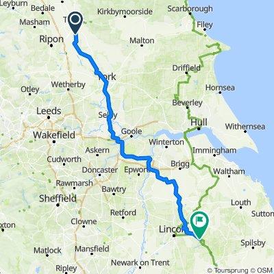 Dalton to Bardney