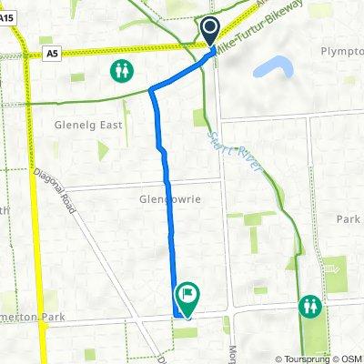 516 ANZAC Highway, Glenelg East to 135 Oaklands Road, Warradale