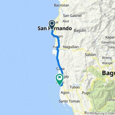 San Fernando to Unnamed Road, Agoo