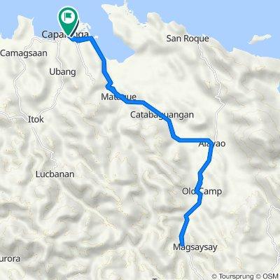 Capalonga to Rizal, Capalonga