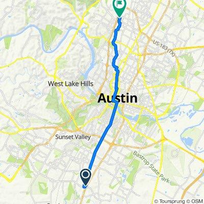 8342–8370 S Ih-35 Service Rd, Austin to 8000 Shoal Creek Blvd, Austin