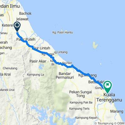 Jalan Kampung Tok Dir, Selising to A701A, Jalan Ketapang Pasar, Batu Enam