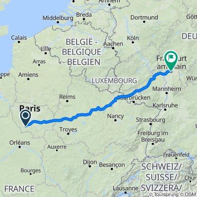 Itinéraire vers Gartenstraße 133, Frankfurt am Main